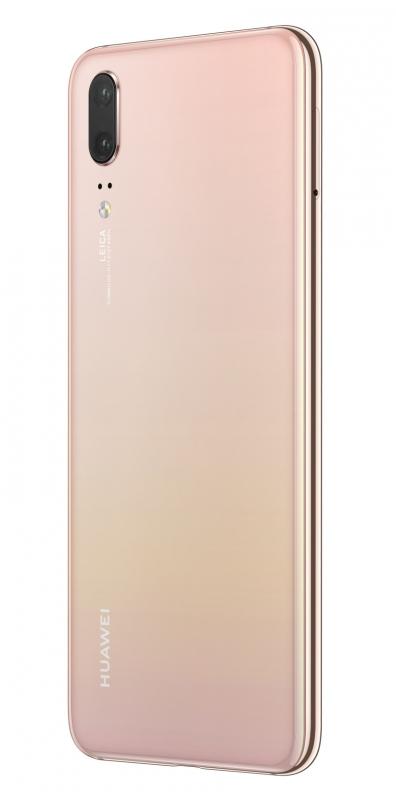 Huawei p20 dual sim ruzovy zadok