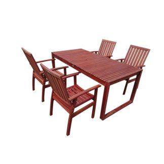 - 5dílný set zahradního nábytku Dining