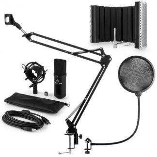 Auna - Auna CM001B mikrofonní sada V5 kondenzátorový mikrofon