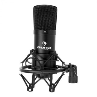 Auna - Auna CM001B studiový mikrofon černý