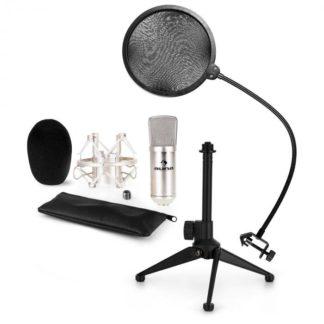 Auna - Auna CM001S mikrofonní sada V2 – kondenzátorový mikrofon