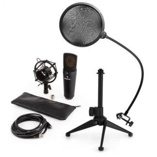 Auna - Auna MIC-920B USB mikrofonní sada V2 – kondenzátorový mikrofon
