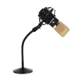 Auna - Auna Set studiového mikrofonu a stojanu na mikrofon - 4260391249099