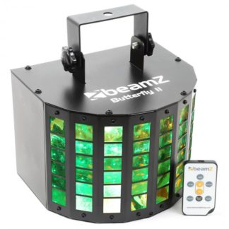 Beamz - Beamz Butterfly II LED Mini Derby 6x3W