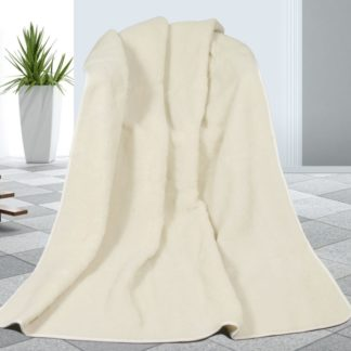 Bellatex - Bellatex Vlněná deka bílá