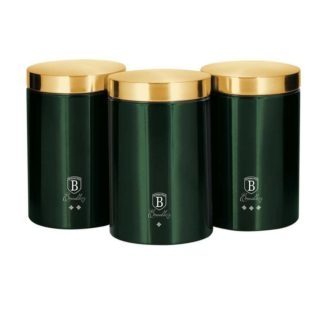 Berlinger Haus - Berlinger Haus 3dílná sada dóz na potraviny Emerald Collection - 5999108400834