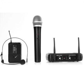 Malone - Bezdrátový mikrofonní set Malone UHF-250 Duo