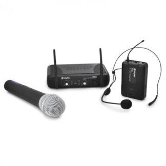 Skytec - Bezdrátový mikrofonní set Skytec STWM722