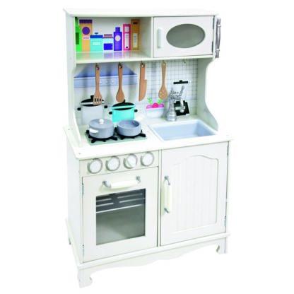 Bino - Bino Dětská dřevěná kuchyňka Provence - 4019359837249
