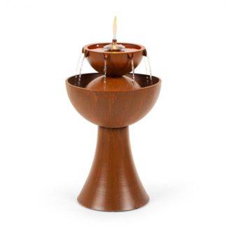 Blumfeldt - Blumfeldt Hadrian zahradní fontána s olejovou lampou
