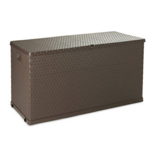- Box úložný zahradní Zahradní box na polstry RATTAN hnědá - 8009371016209