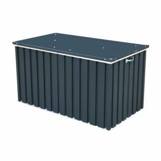 - DURAMAX Zahradní úložný box 134 x 74 cm 71051 antracit - 638801710516