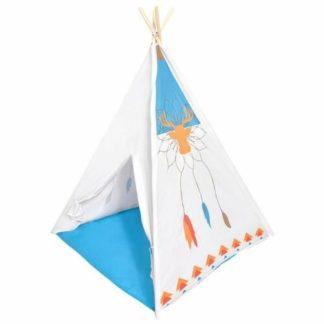 Ecotoys - Ecotoys Dětský indiánský stan Teepee - 6958868881771