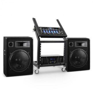 Electronic-Star - Electronic-Star DJ reproduktorový set Rack Star série Venus Bounce 200 lidí - 4260414543098