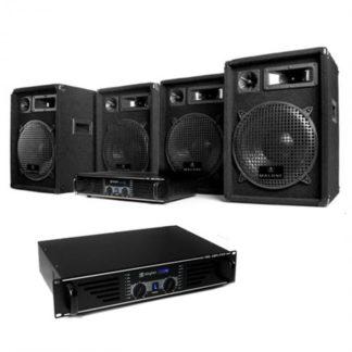 """Electronic-Star - Electronic-Star DJ sestava """"Marrakesh Lounge Pro"""" – set repro a zesilovače - 4260130929459"""