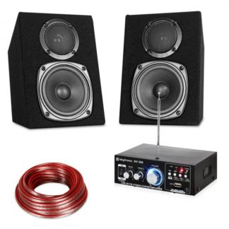 Electronic-Star - Electronic-Star Hi-Fi Stereo Sound Set USB SD MP3 - 30 W - 4060656072154
