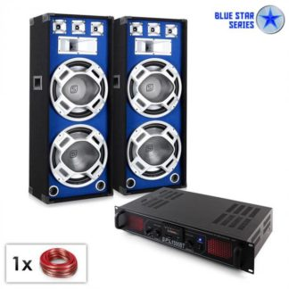 "Electronic-Star - Electronic-Star PA set Blue Star Series ""Beatsound bluetooth MP3"" 2000 W - 4260391248665"