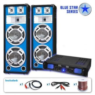"""Electronic-Star - Electronic-Star PA set Blue Star Series """"Basskern"""""""