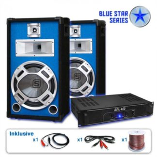 "Electronic-Star - Electronic-Star PA set Blue Star Series ""Starter"""