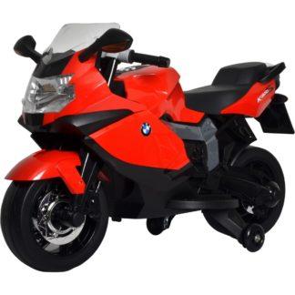Buddy Toys - Elektrická motorka Buddy Toys BEC 6011 červená -