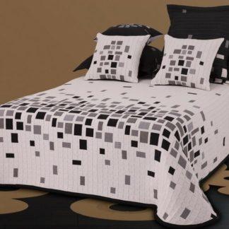 - Forbyt Přehoz na postel Derby černobílá