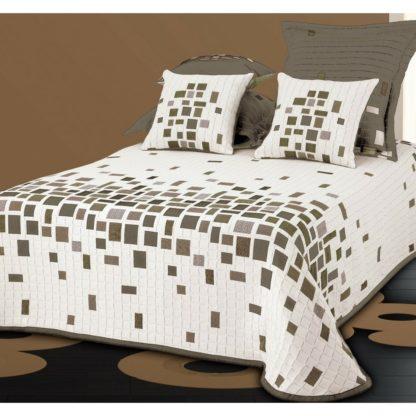 - Forbyt Přehoz na postel Derby béžová - 8591034063823