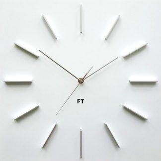 Future Time - Future Time FT1010WH Square white 40cm Designové hodiny - 8594186620036