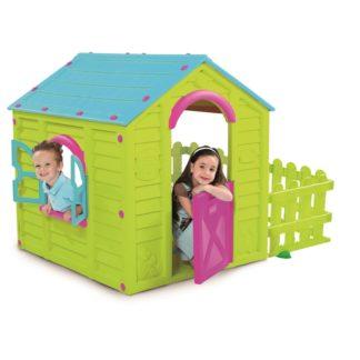 - KETER dětský plastový domeček MY GARDEN HOUSE zelený - 7290103661137