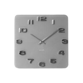 Karlsson - Karlsson 5488GY Designové nástěnné hodiny