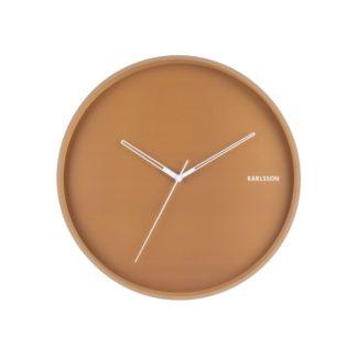 Karlsson - Karlsson 5807BR Designové nástěnné hodiny pr. 40 cm - 8714302657955