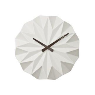Karlsson - Karlsson KA5531WH Designové nástěnné hodiny