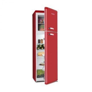Klarstein - Klarstein Audrey Retro kombinace chladničky s mrazničkou
