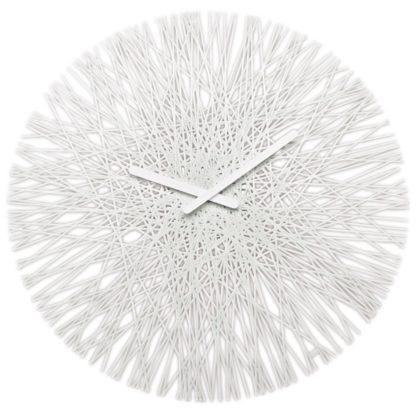 Koziol - Koziol Nástěnné hodiny Silk bílá