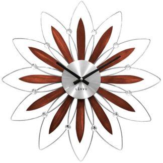 Lavvu - LAVVU CRYSTAL Flower LCT1111 Nástěnné hodiny - 8596300007303