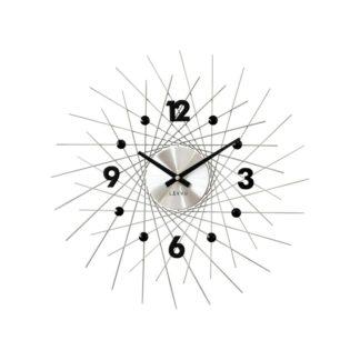 Lavvu - Lavvu LCT1052 Nástěnné hodiny Crystal Lines 49 cm