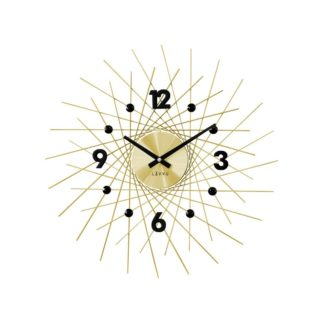 Lavvu - Lavvu LCT1053 Nástěnné hodiny Crystal Lines 49 cm