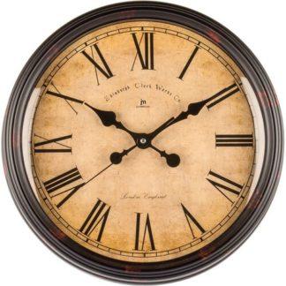 Lowell - Lowell 00825E Designové nástěnné hodiny pr. 40 cm - 8008457796141