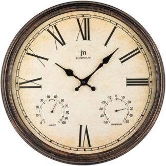 Lowell - Lowell 00835M Designové nástěnné hodiny pr. 40 cm - 8008457791573