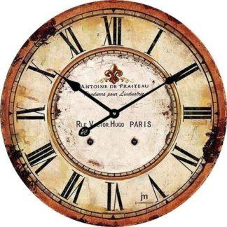 Lowell - Lowell 14862 Designové nástěnné hodiny pr. 34 cm - 8008457147424