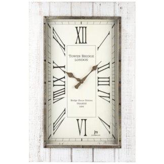 Lowell - Lowell 21477 Designové nástěnné hodiny 60 x 40 cm - 8008457786319