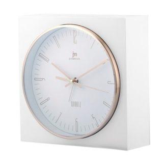 Lowell - Lowell JA7070B Stolní hodiny s funkci budíku 16 x 16 cm - 8008457792495