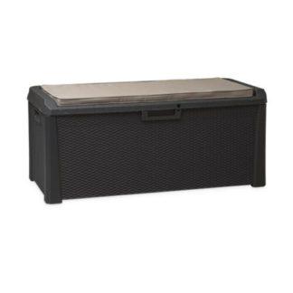 - Multifunkční úložný box Santorini Plus šedá