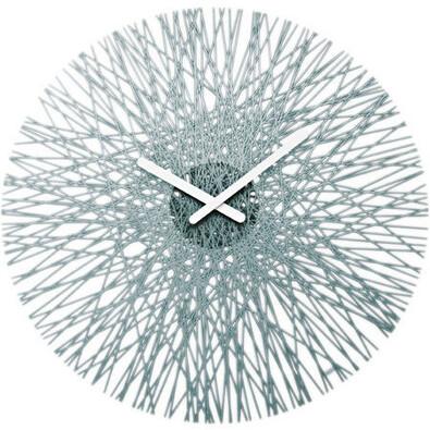 Koziol - Nástěnné hodiny Silk antracit