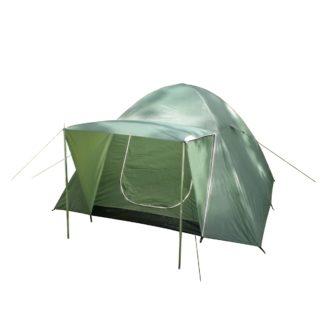 - Nawalla Dvouplášťový stan pro 3 osoby zelená