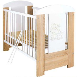 - New Baby Medvídek s hvězdičkou se stahovací bočnicí dub - 8596164039274