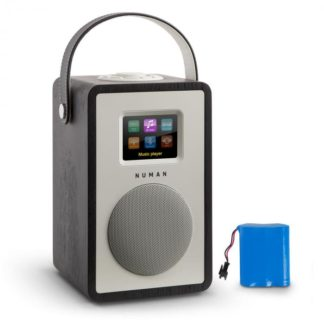 Numan - Numan Mini Two Design internetové rádio Wi-Fi DLNA bluetooth FM dub včetně nabíjecí baterie - 4260509674553