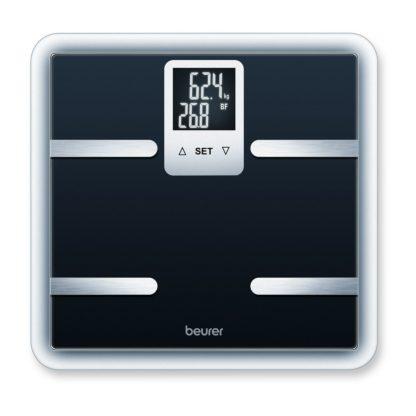 Beurer - Osobní a diagnostická váha BEURER BG 40 BLACK - 4211125761066