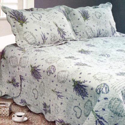 - Přehoz na postel Levandule