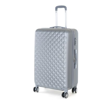 - Pretty UP Cestovní skořepinový kufr ABS21 L