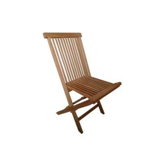 - Sada skládacích zahradních židlí Clasic teak